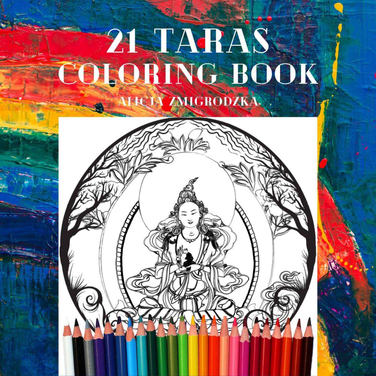 21 Taras Coloring Book